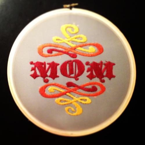 mom string