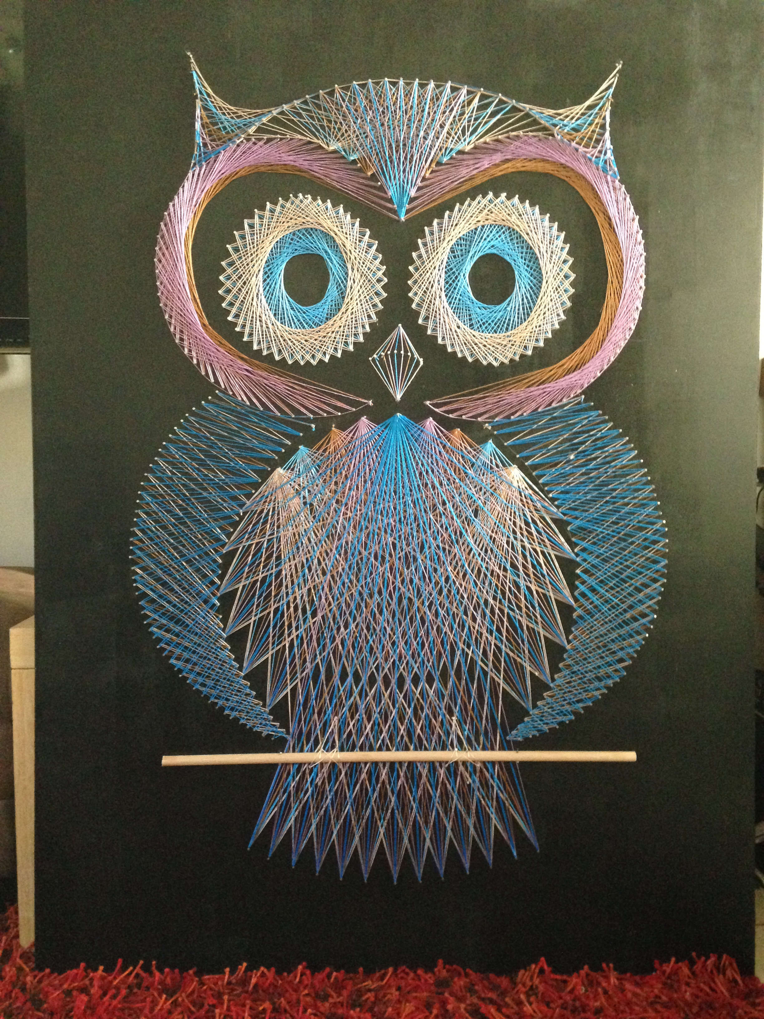 Owl String Art — Crafthubs